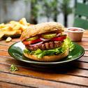 Klasyczny burger wegetariański