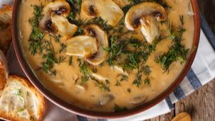 Krem juha od gljiva