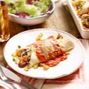 Enchiladas mit Gemüsefüllung