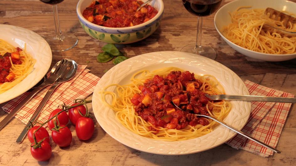 Spaghetti Bolognese »Primavera«