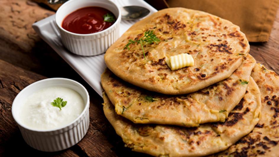 Aloo Charchuri Parathas Recipe