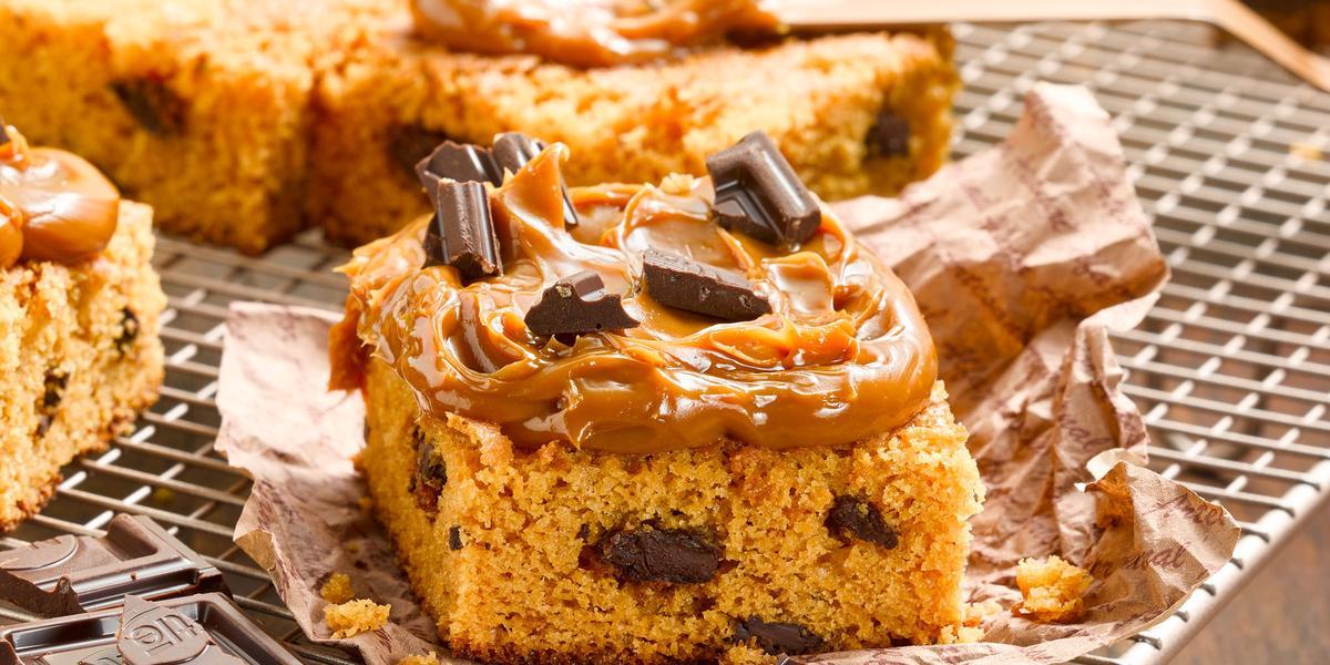 Brownie de Manjar y Chocolate