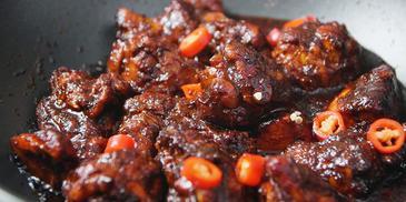 Ayam Sambal Masak Kicap