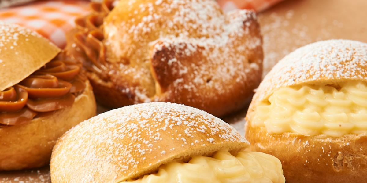 Conejitos con Crema Pastelera y Manjar