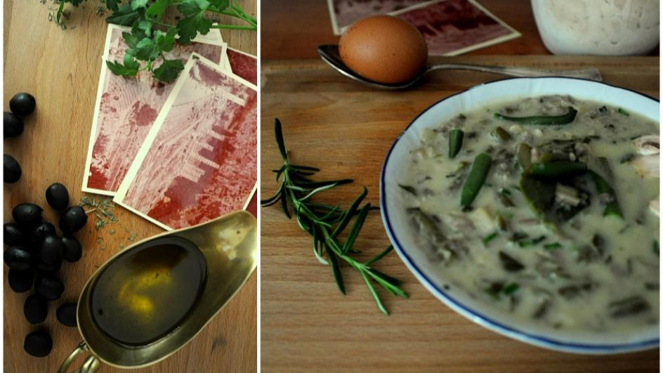 Mayeritsa – grecka zupa wielkanocna (wersja wegetariańska)