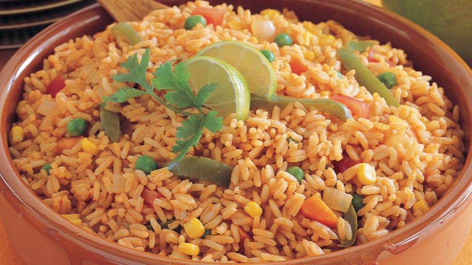 أرز على الطريقة المكسيكيّة