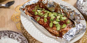 Simple Grilled Fish With Petai