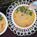 Chicken chowder z kukurydzą