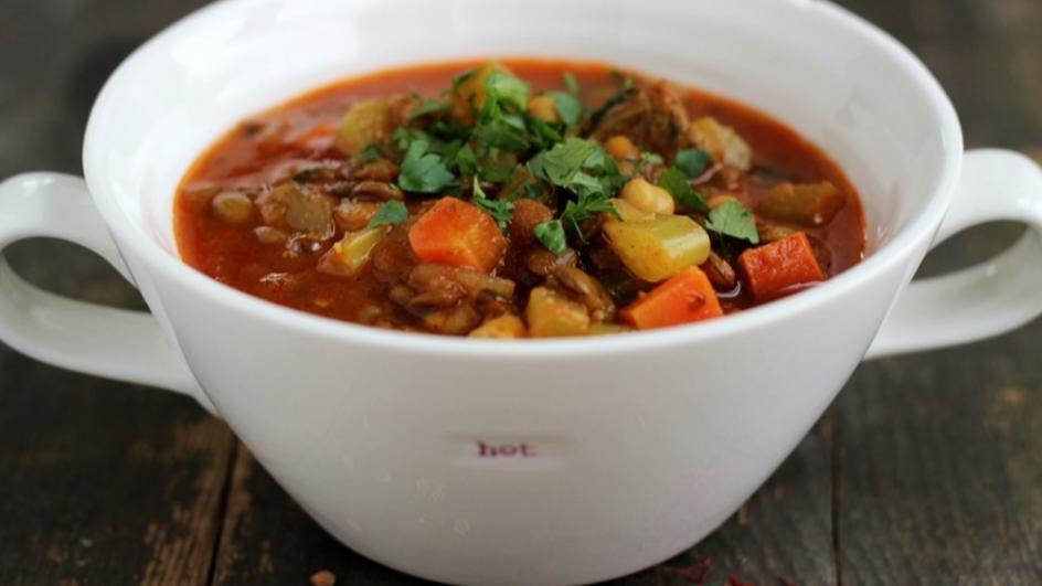Marokańska zupa harira