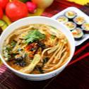Supa coreeana de noodles