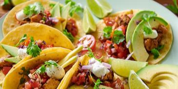 Tacos z kurczakiem i awokado
