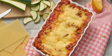 Lasagne mit Möhren und Zucchini