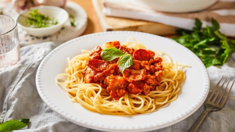 Húsimádó bolognai spagetti