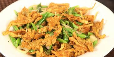 MAGGI Green Beans and Battered Mushrooms Recipe