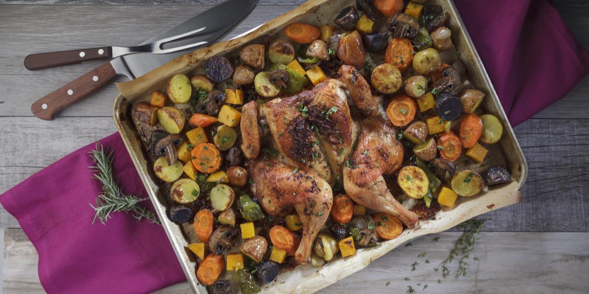 Spatchcock Chicken Roast