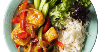 Maggi® So Juicy®  Sweet Chilli Halloumi