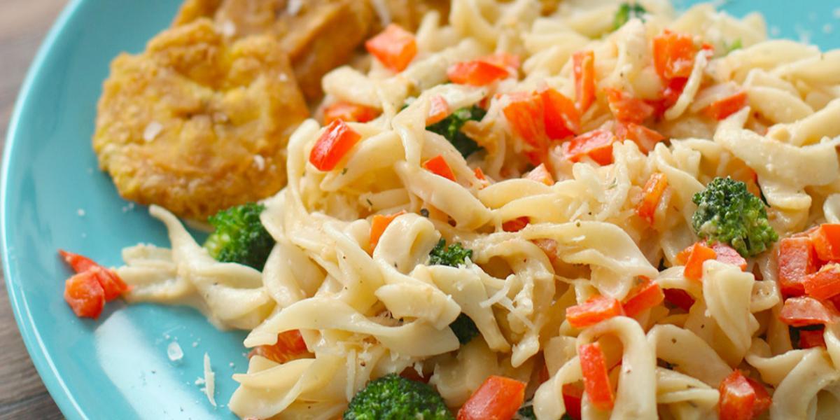 Pasta en Salsa de Vegetales Asados