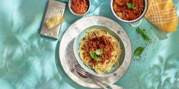 Harissa Spaghetti Bolognese