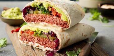 Sensational Burger wrapy