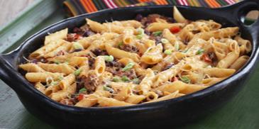 Tex Mex Chili Pasta