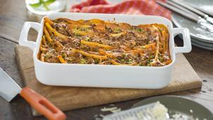 Maggi Fix für Ofen-Makkaroni mit Frischkäse