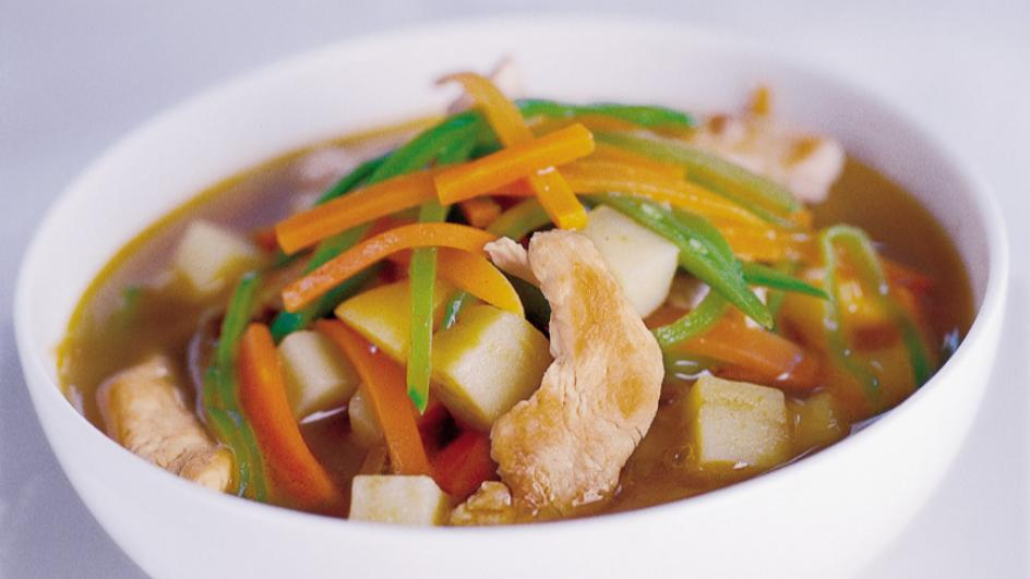 Asiatische Hühnersuppe