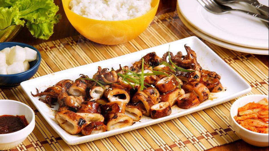 Savorventure Korean Inspired Grilled Squid