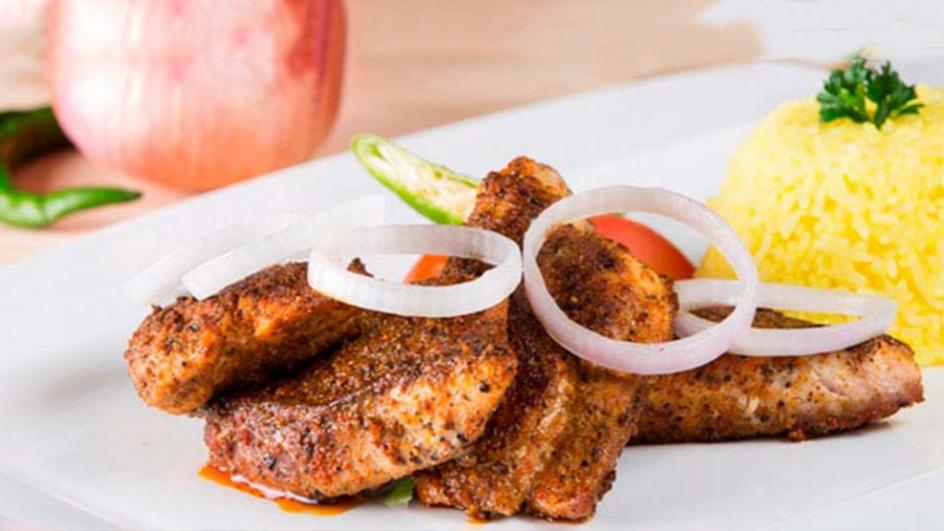 Spicy Pan Fried Fillet of Mullet