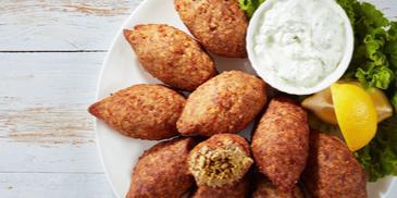 Meat Kibbeh Akras