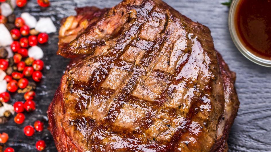 Hovězí steak se švěstkovou omáčkou