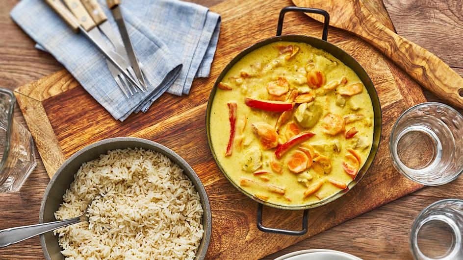 Hähnchen-Curry India