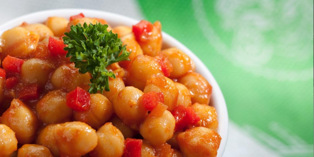 Descubre esta receta fácil y rápida de chana masala