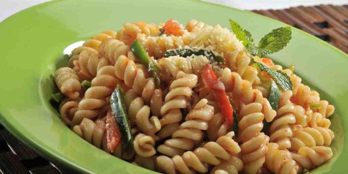 Pasta multicolor
