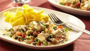 Mediterrane Gemüse-Hähnchenpfanne
