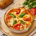 Tomate-Mozzarella-Auflauf