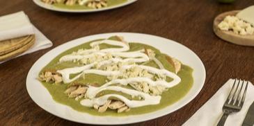 Tortille z kurczakiem z zielonym chili