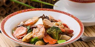 Prawn & Vegetable Chopsuey