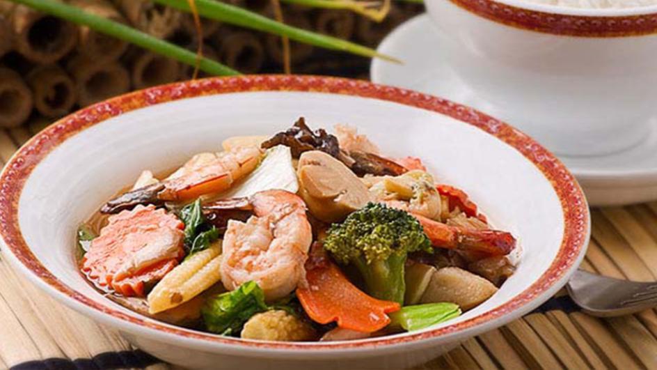 Prawn & Vegetable Chopsuey