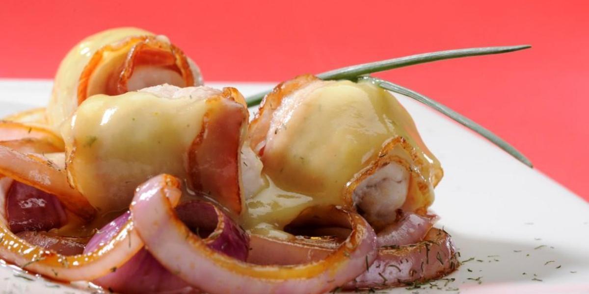 Rollos de pescado crocantes