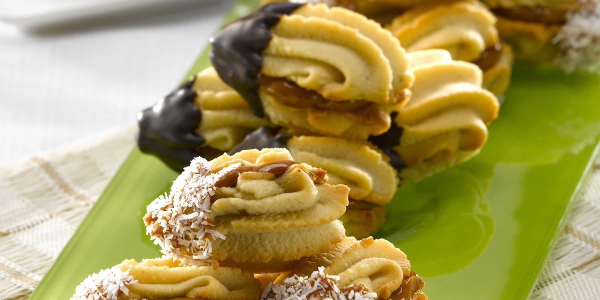 Galletas Garritas con Manjar