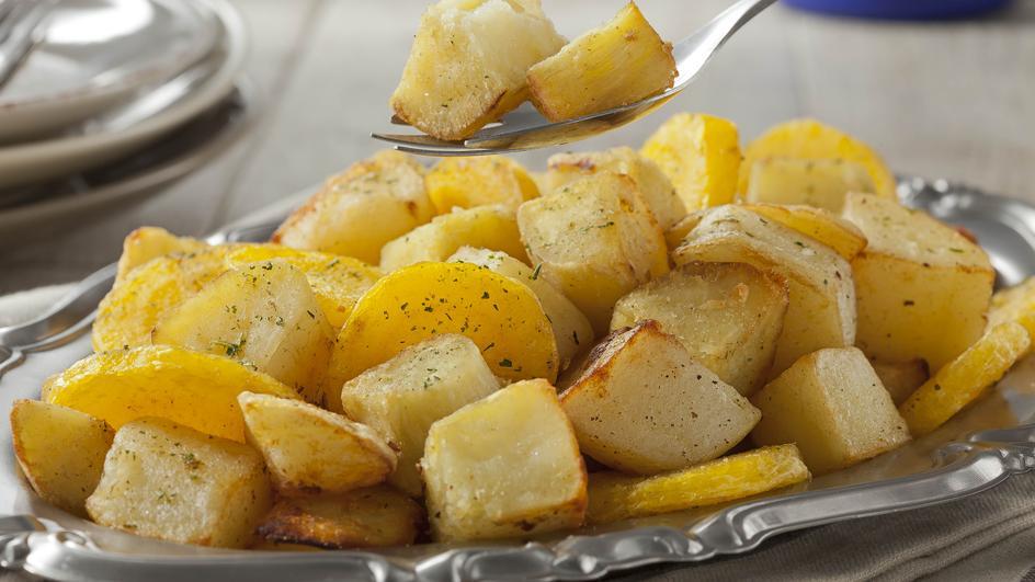 Cartofi natur cu smantana