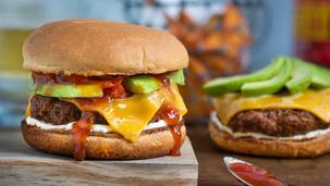 Texicana Burger mit Avocado