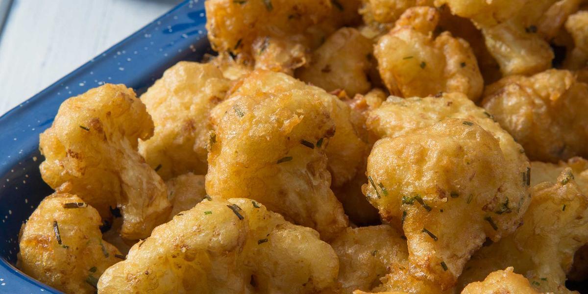 Fritos de Coliflor