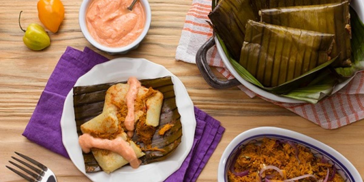 tamales de cochinita