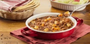 Mięso mielone z ryżem po meksykańsku