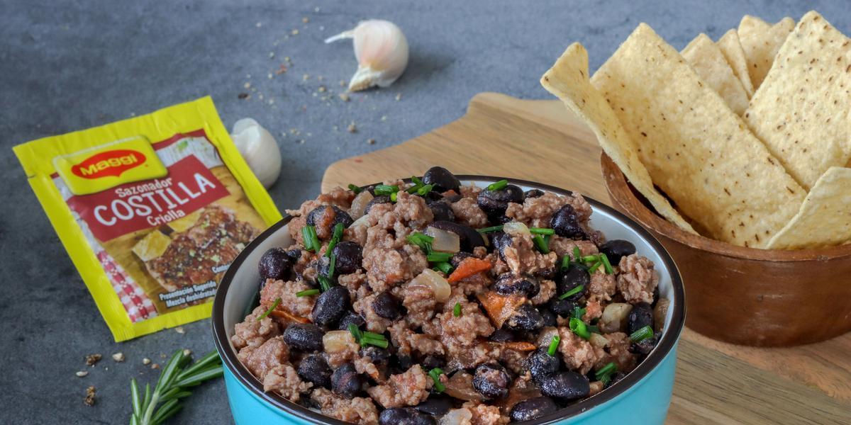 Chili con Frijoles Negros