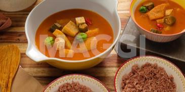 Soupe légère végétarienne