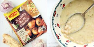 Zupa chrzanowa z białą fasolą