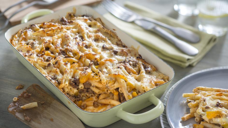 Makkaroni-Lasagne