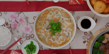 Five Shreds Fish Maw Soup